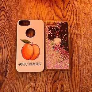 Just Peachy and Glitter Dancer iPhone 8 Plus Case!